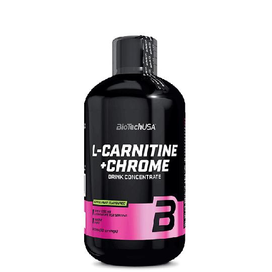 L-Carnitine + Chrome, 500 ml