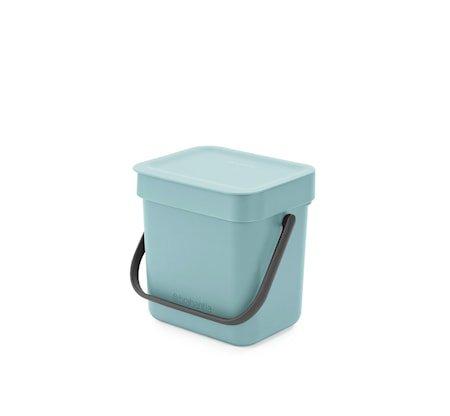Avfallsbøtte Sort & Go 3 L Mint