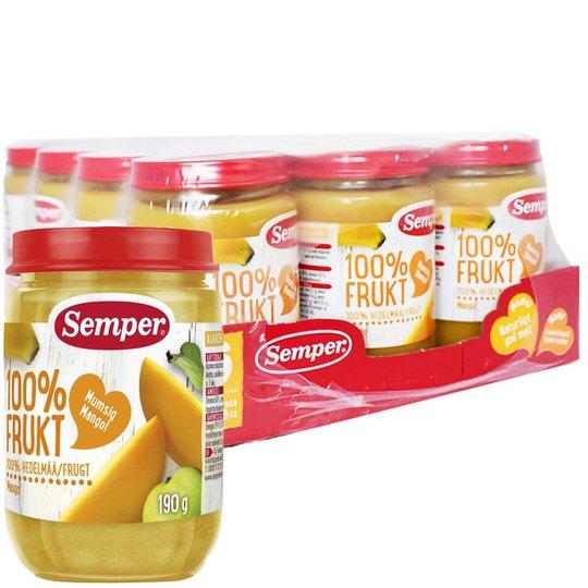Hel Låda Barnmat Frukt Mango 12 x 190g - 31% rabatt