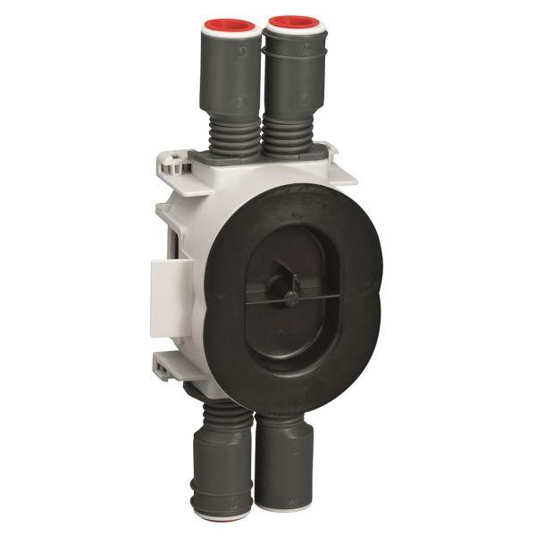 Schneider Electric IMT35003 Apparatboks brannklassifisert, 1,5 modul, 13/26 mm