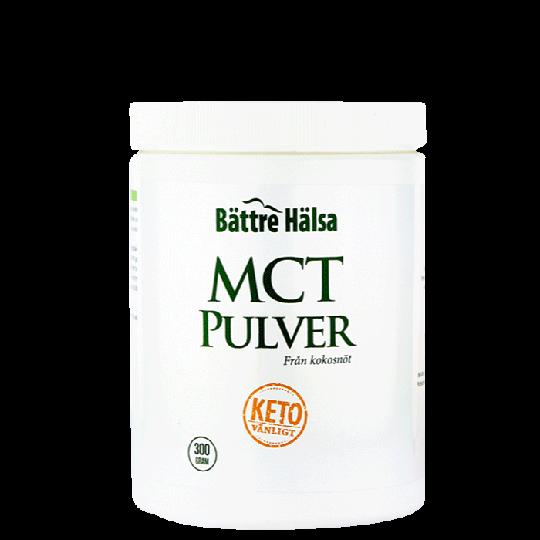 Bättre Hälsa MCT Pulver, 300 g