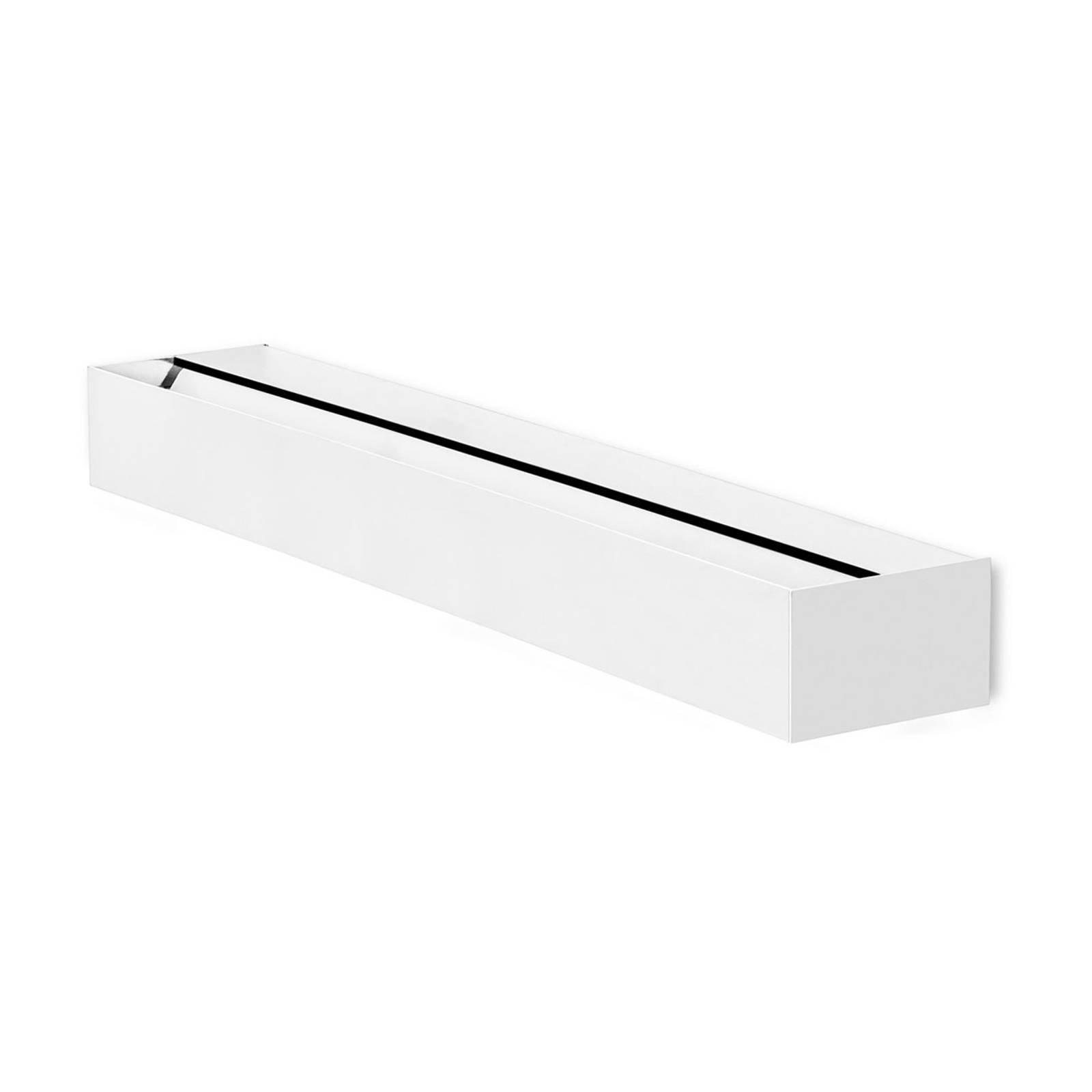 LEDS-C4 Lia LED-vegglampe, matt hvit, 60 cm