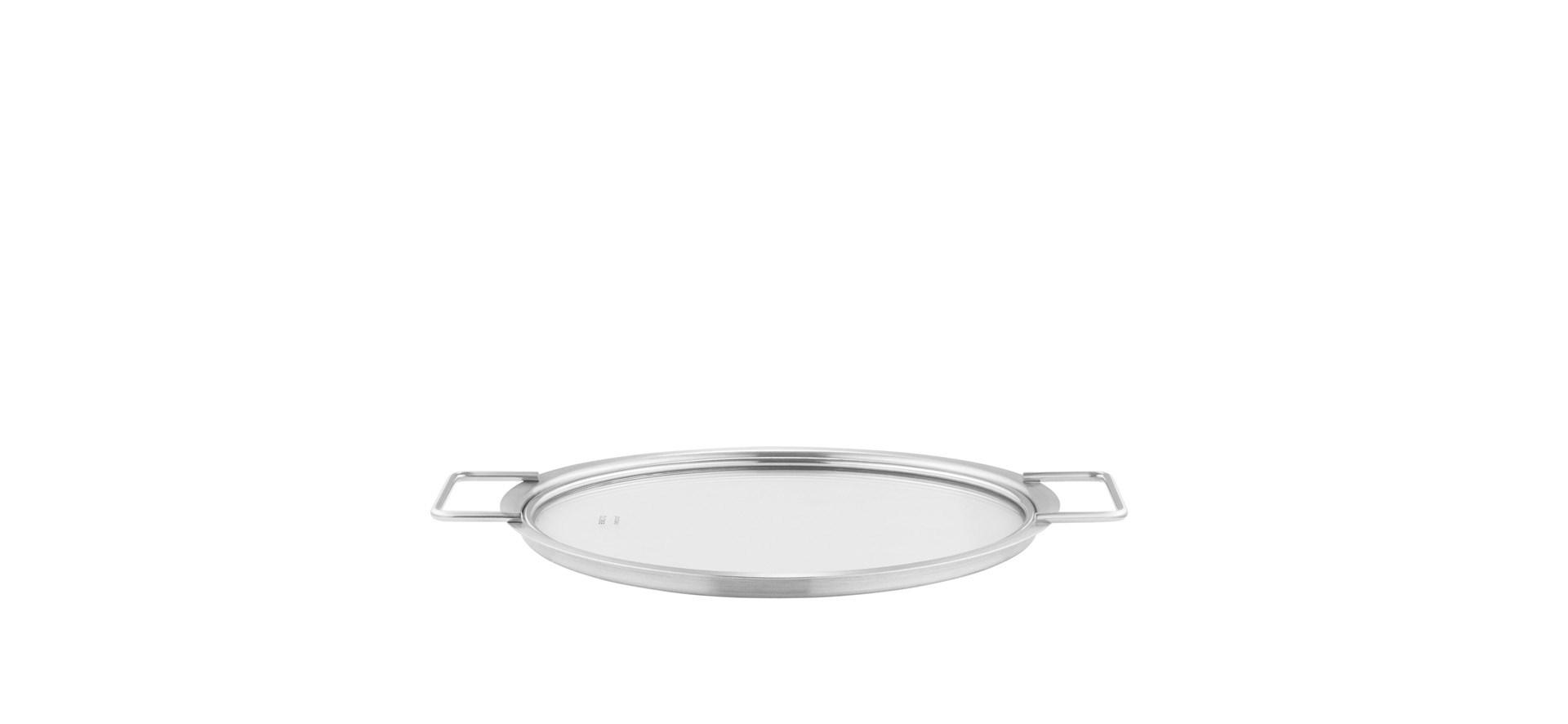 Eva Trio - Stainless Steel/Glass Lid - 24 cm (201024)