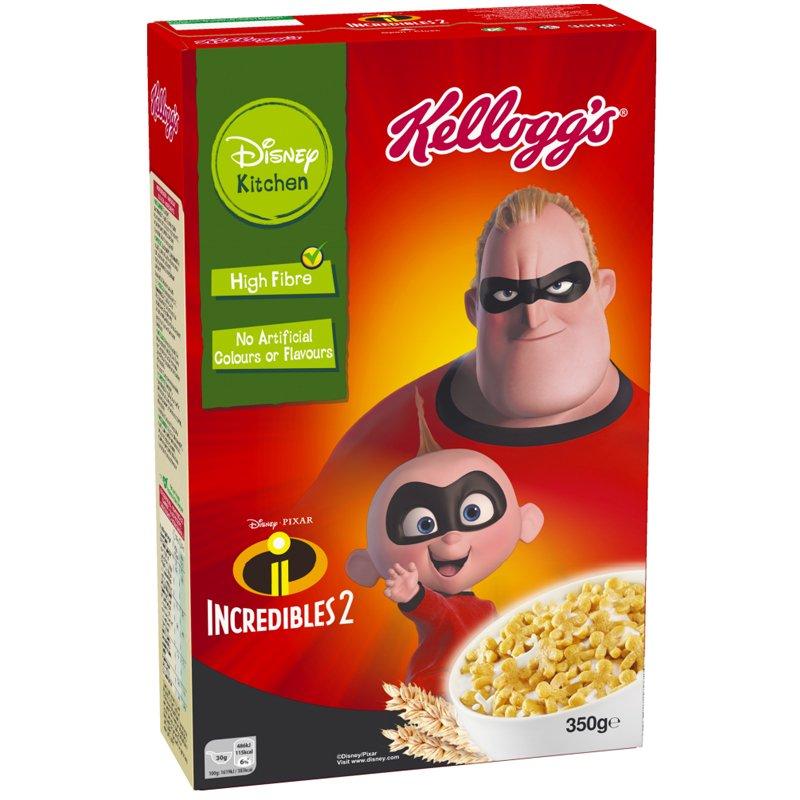 "Aamiaismurot ""Incredibles 2"" 350g - 47% alennus"