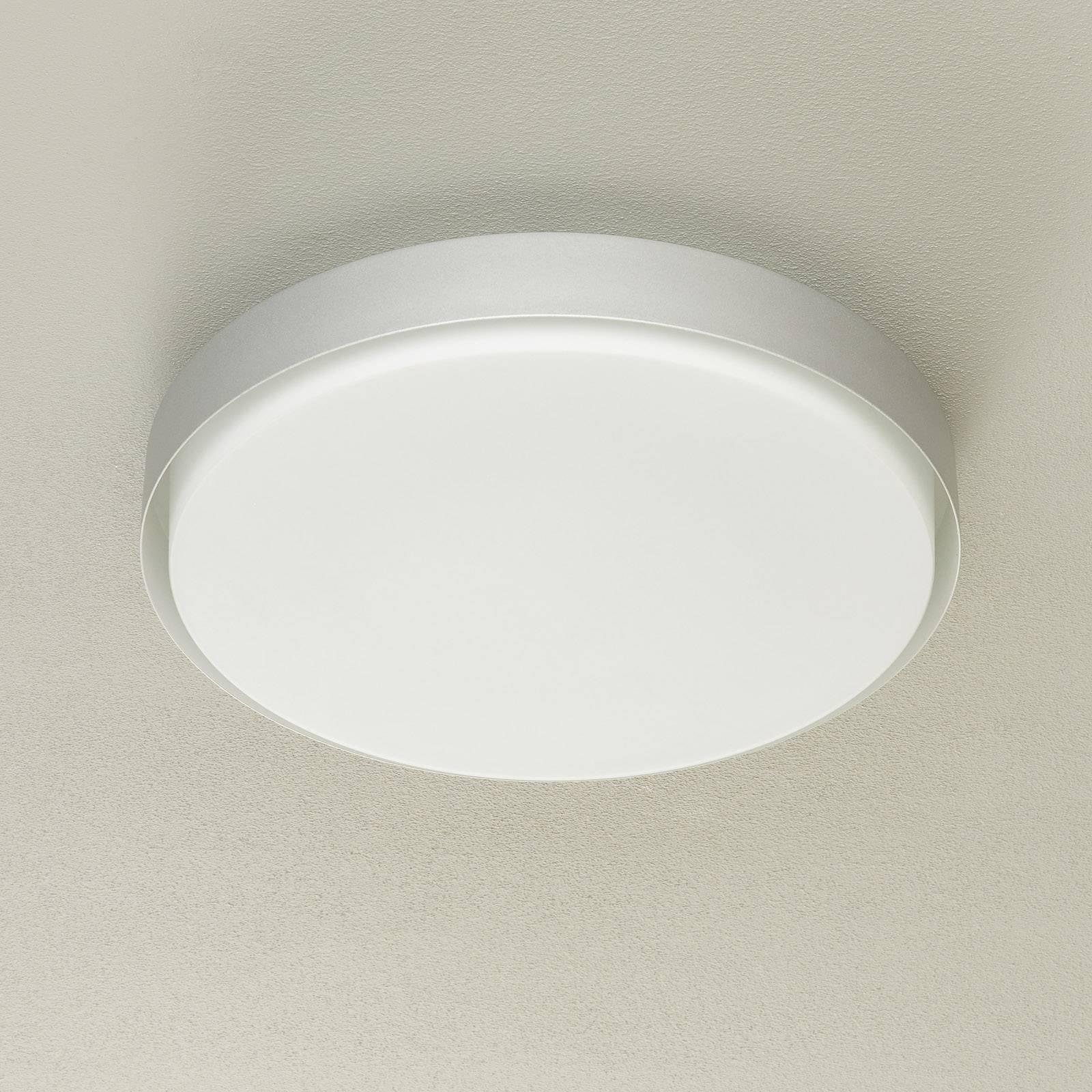 BEGA 12165 LED-taklampe, alu, Ø 50 cm, DALI