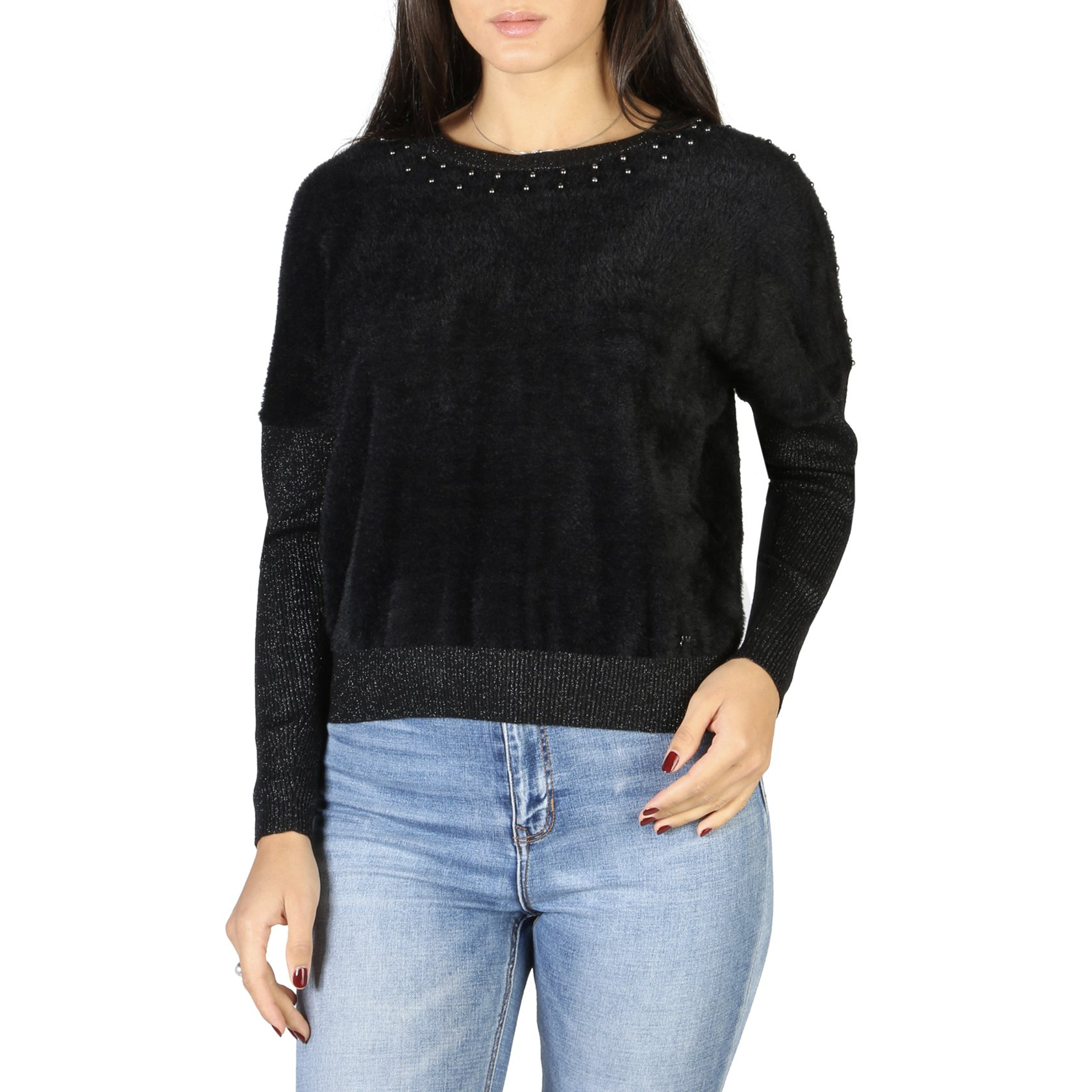 Yes Zee Women's Sweater Various Colours 1664_M014_IS00 - black XS