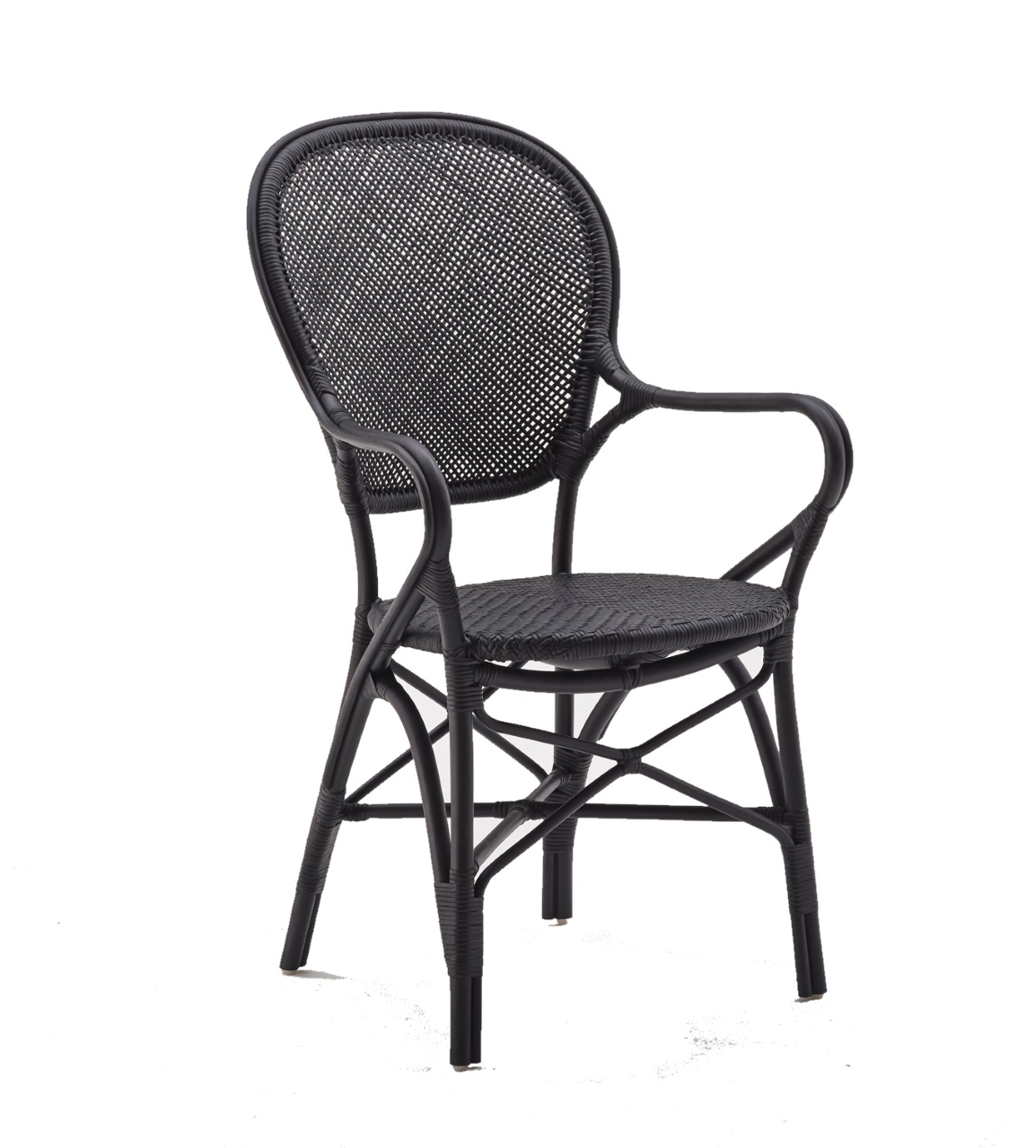 Rossini karmstol svart, Sika-design