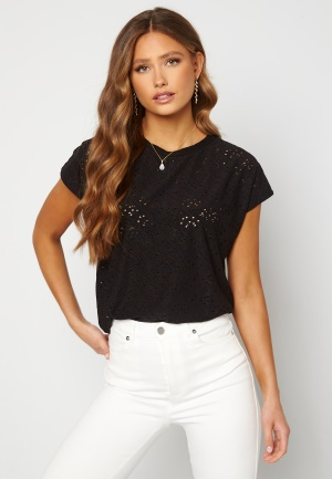ONLY Smilla S/S Top Black M