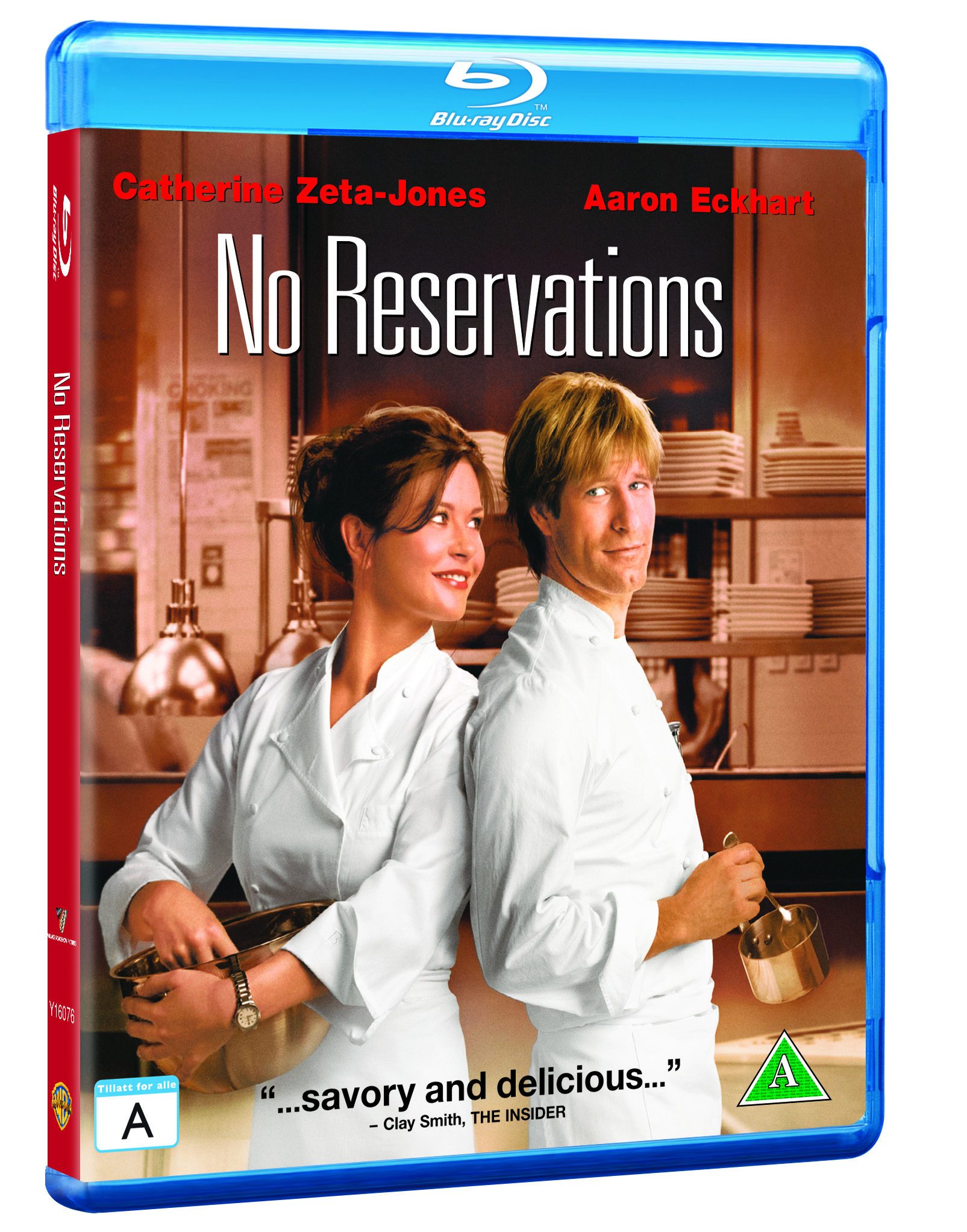 No Reservations - Blu Ray