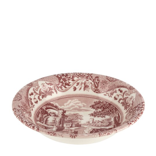 Spode - Cranberry Italian Skål 20 cm