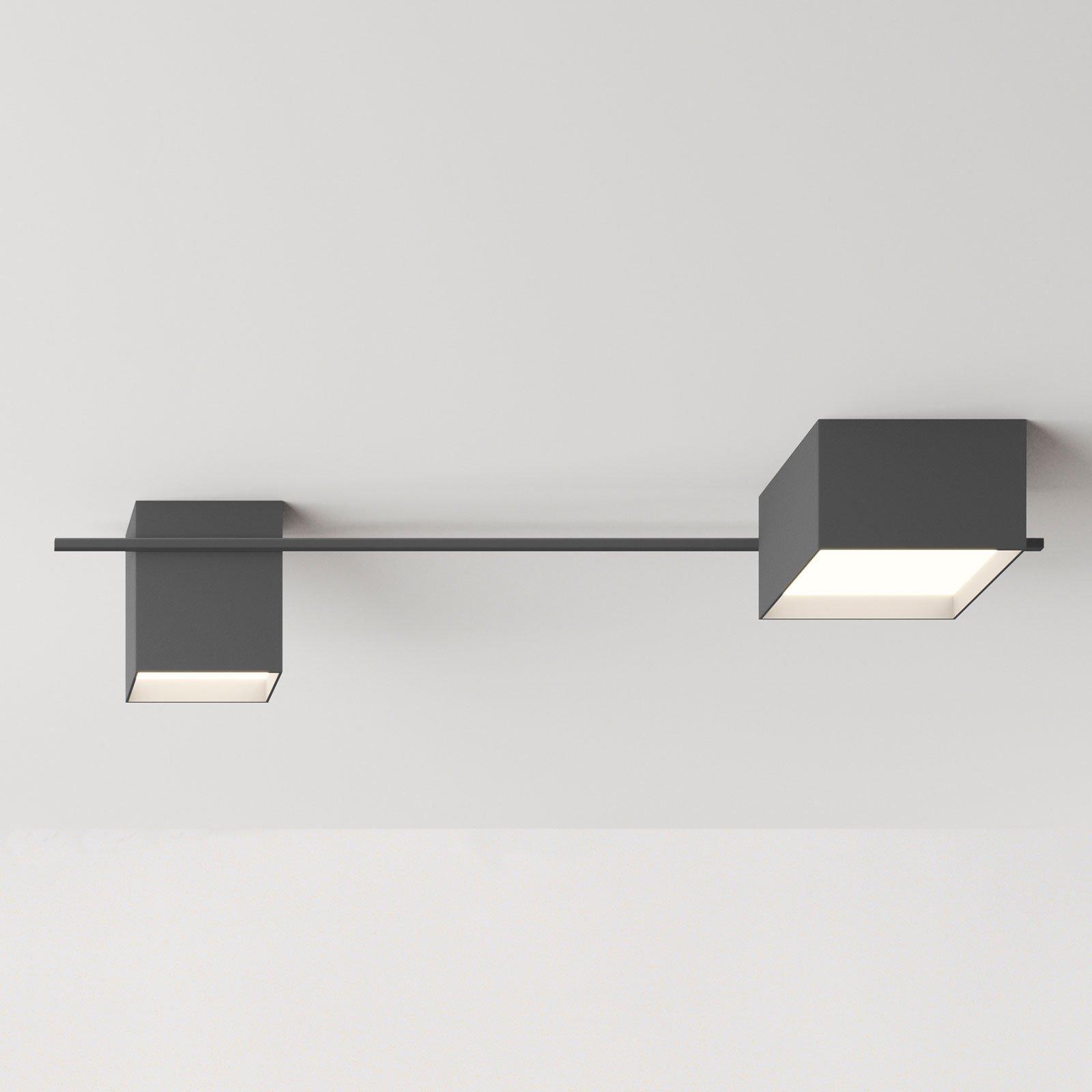 Vibia Structural 2640 taklampe, mørkegrå