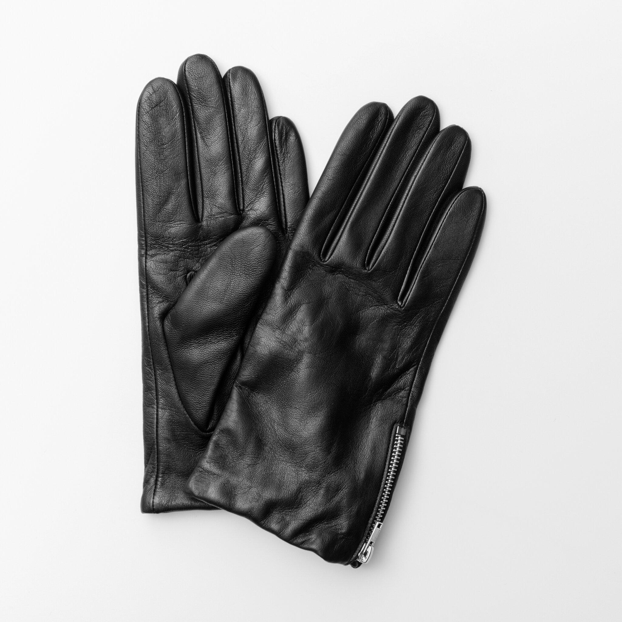 Handske i läder