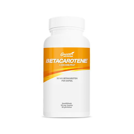 Betacarotene 50 mg+Coconut fat, 90 caps