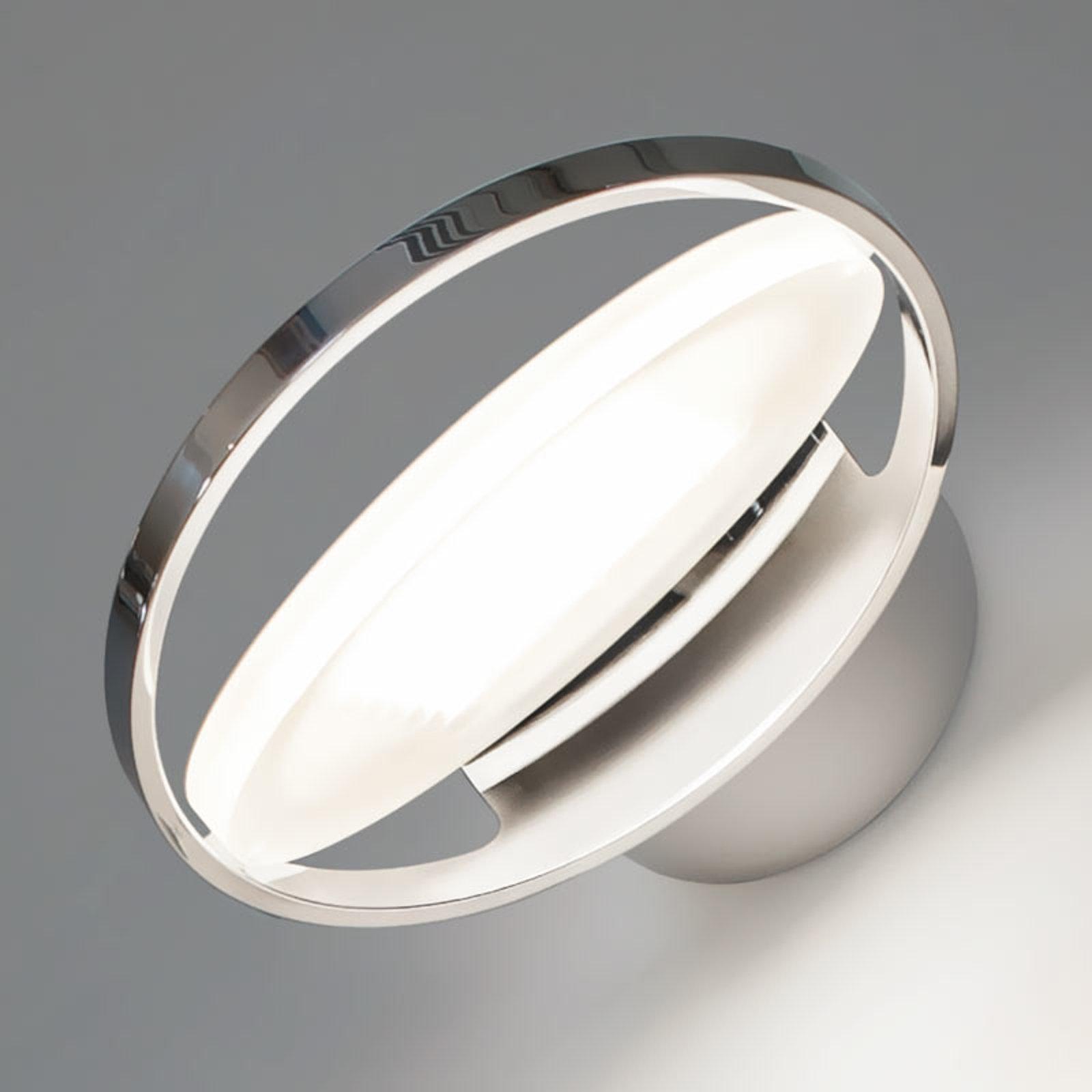 Nimbus Rim R 36 LED-vegglampe, krom