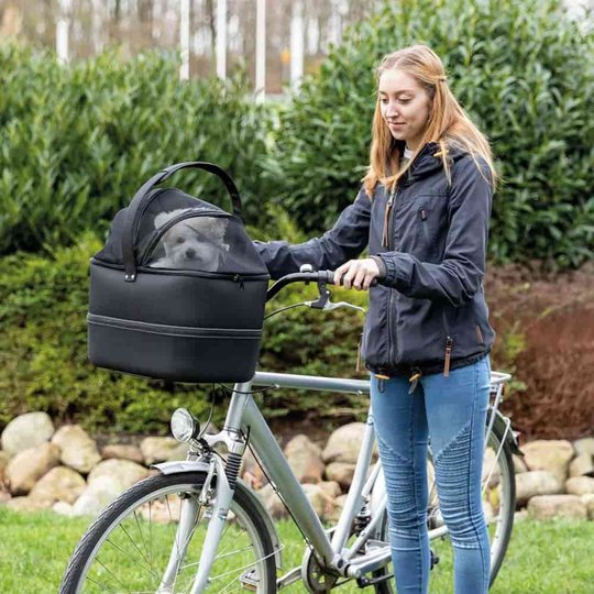 Trixie Cykelkorg Front med Nät