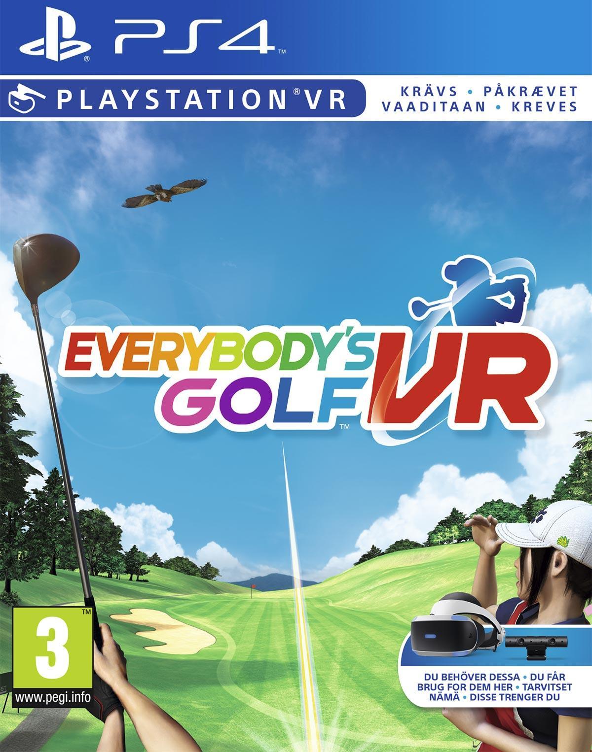 Everybody's Golf (PSVR) (Nordic)