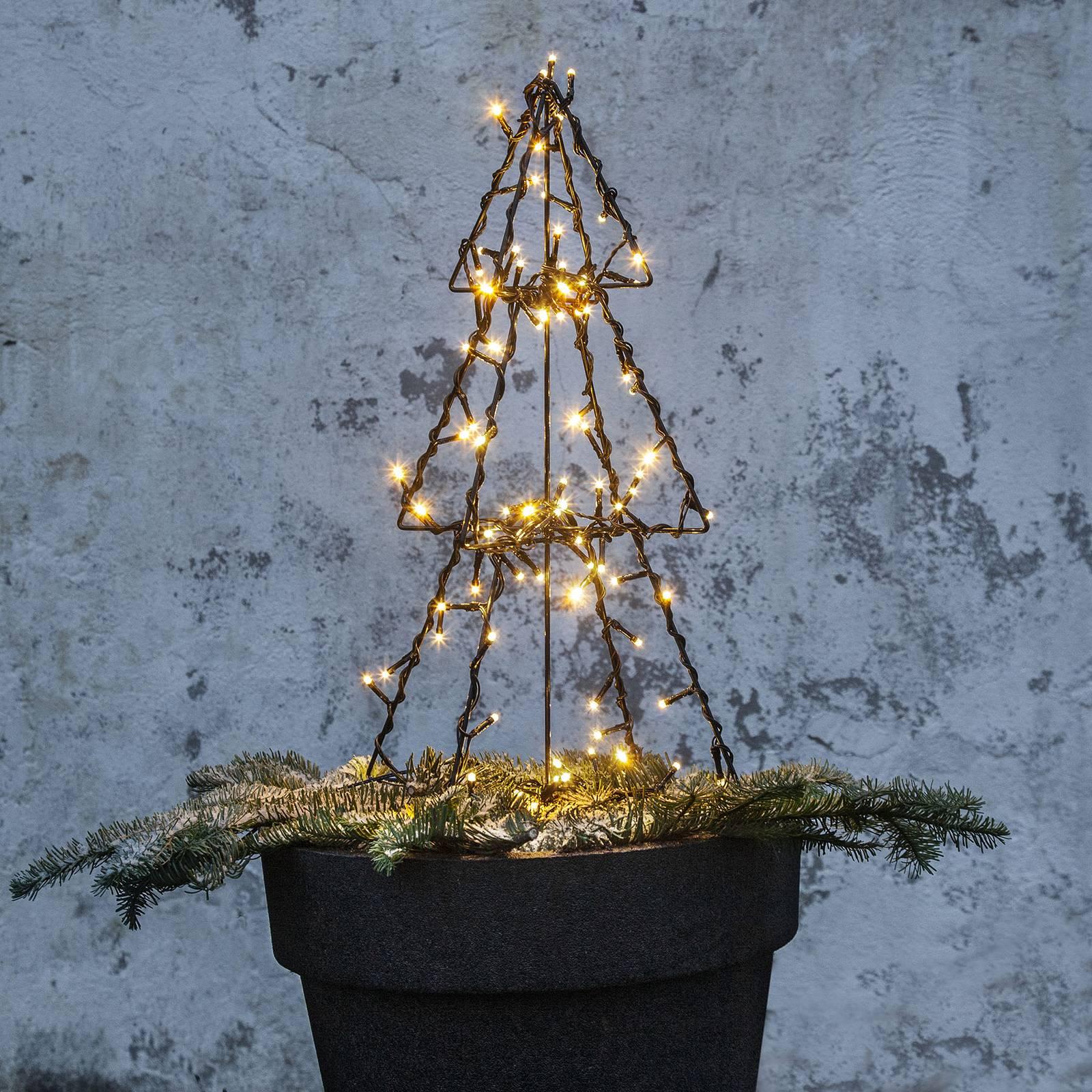 Light Tree Foldy -LED-ulkokoristevalo, 50 cm