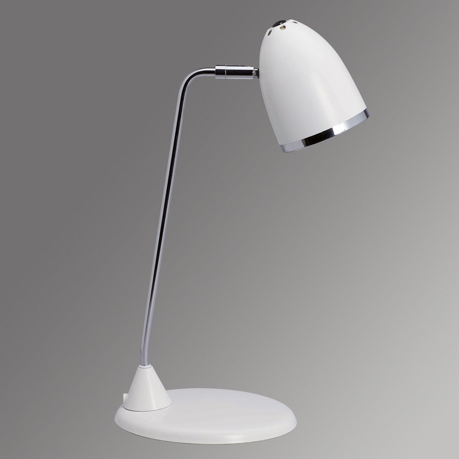 Starlet flott skrivebordslampe - hvit