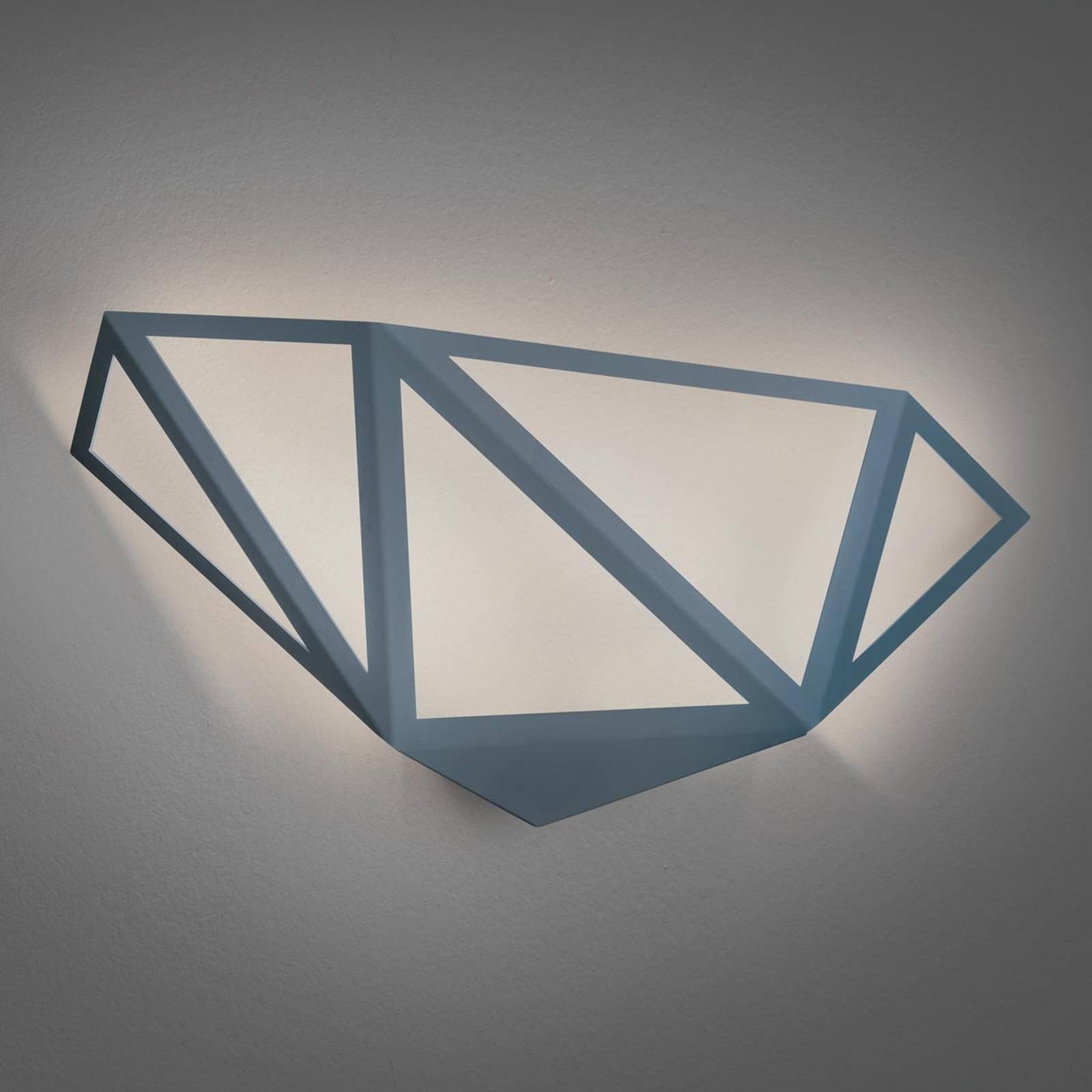 LED-vegglampe Starlight, grå