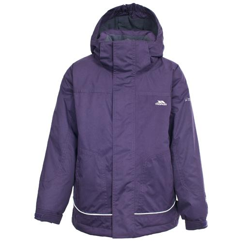 Trespass Kid's Jacket Various Colours Cornell - Wildberry 3 to 4 Years