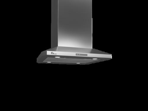Thermex Decor 787, Fh, 60 Cm Rf M/motor Frihängande Köksfläkt - Rostfritt Stål