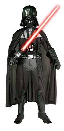 Rubie's Kostyme Darth Vader Deluxe, S