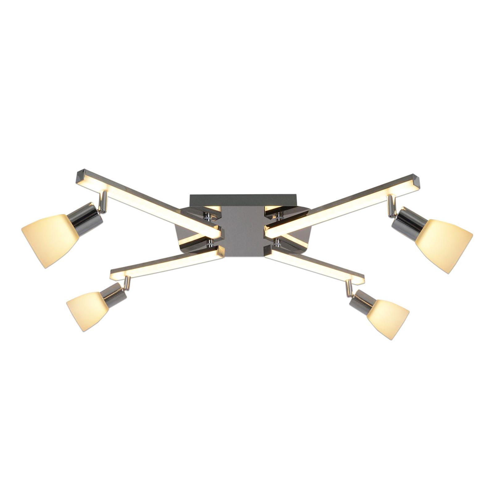 LED-kattovalaisin Ibiza, 4-lamppuinen