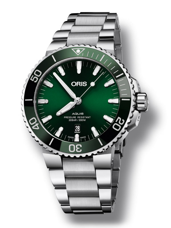 ORIS Aquis Date 43,5mm 733-7730-4157-07-8-24-05PEB