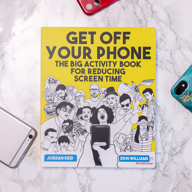 Get Off Your Phone Activity Book (22808)