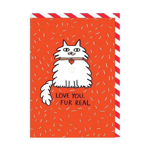 Love You Fur Real Greeting Card