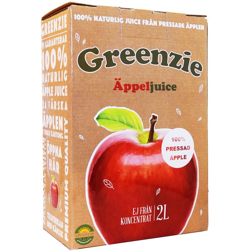 "Äppeljuice ""Bag-in-Box"" 2l - 59% rabatt"