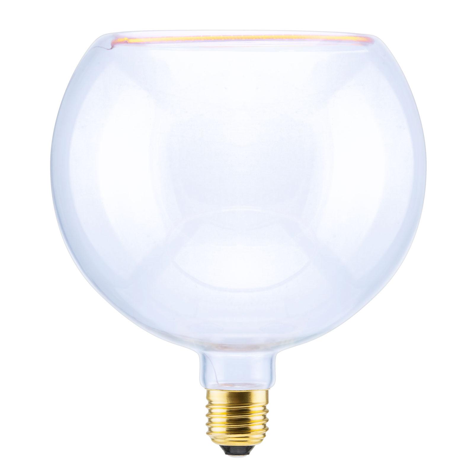 SEGULA LED-Floating-globe-lamppu 200 E27 8W kirkas