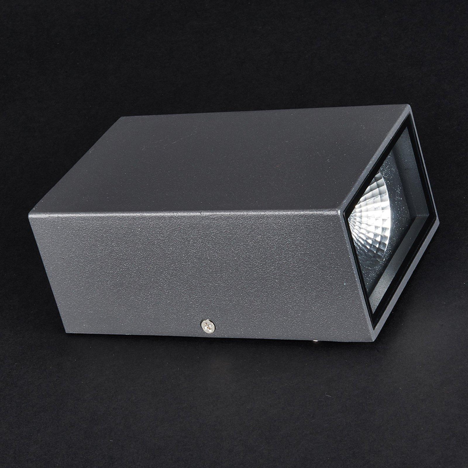 Jale utendørs LED-vegglampe i aluminium