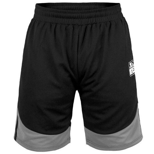 BAD BOY Force Shorts, Black/Grey