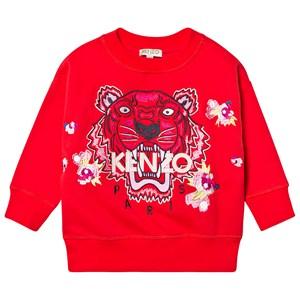 Kenzo Tiger Tröja Röd 10 years