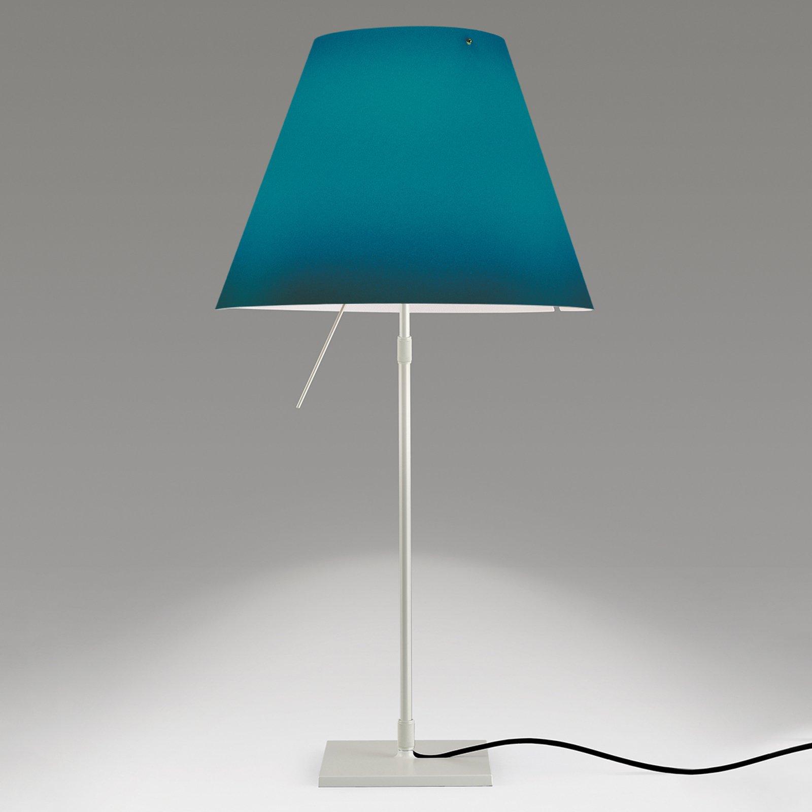 Dekorativ LED bordlampe Costanza i blått
