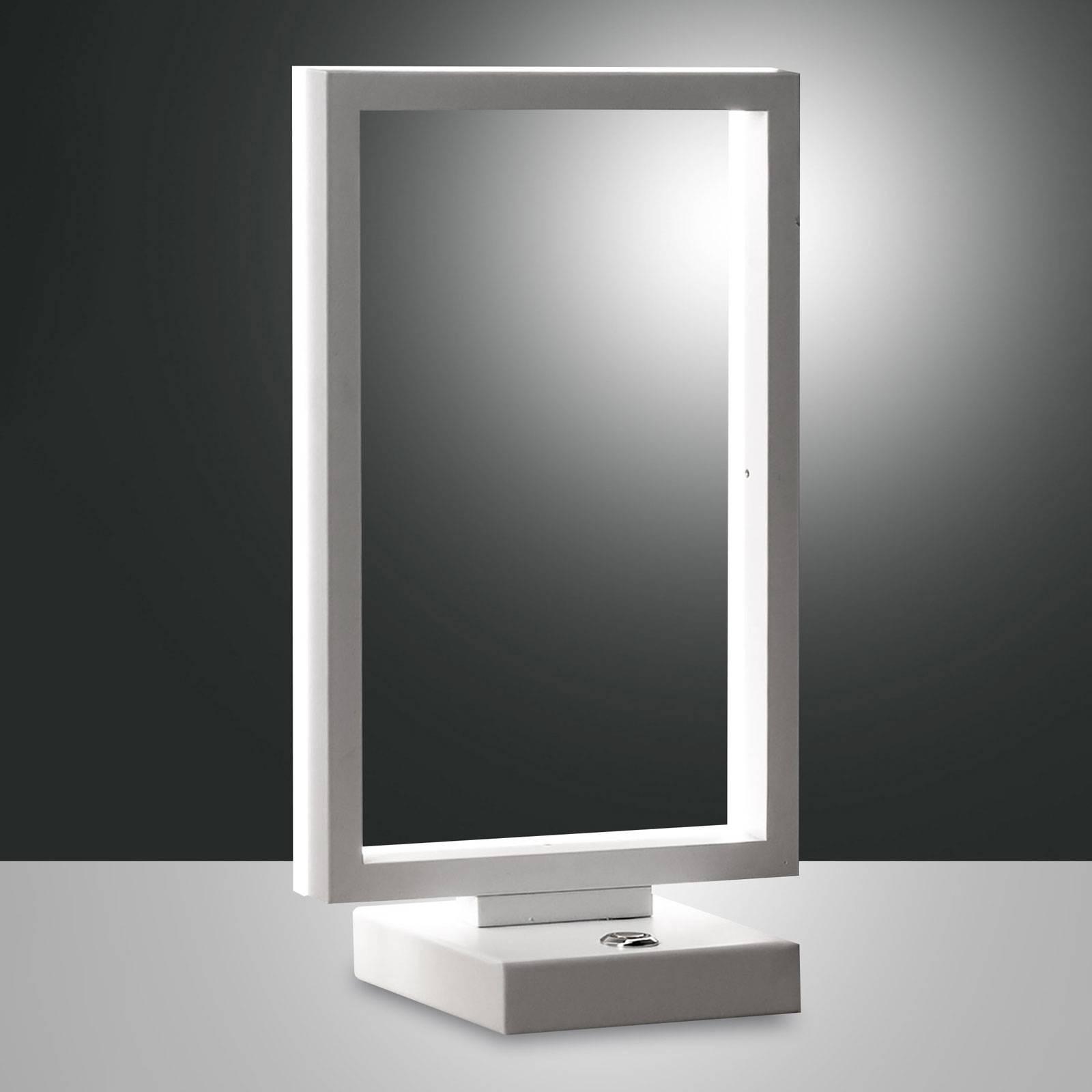 LED-pöytälamppu Bard, himmennettävä, valkoinen
