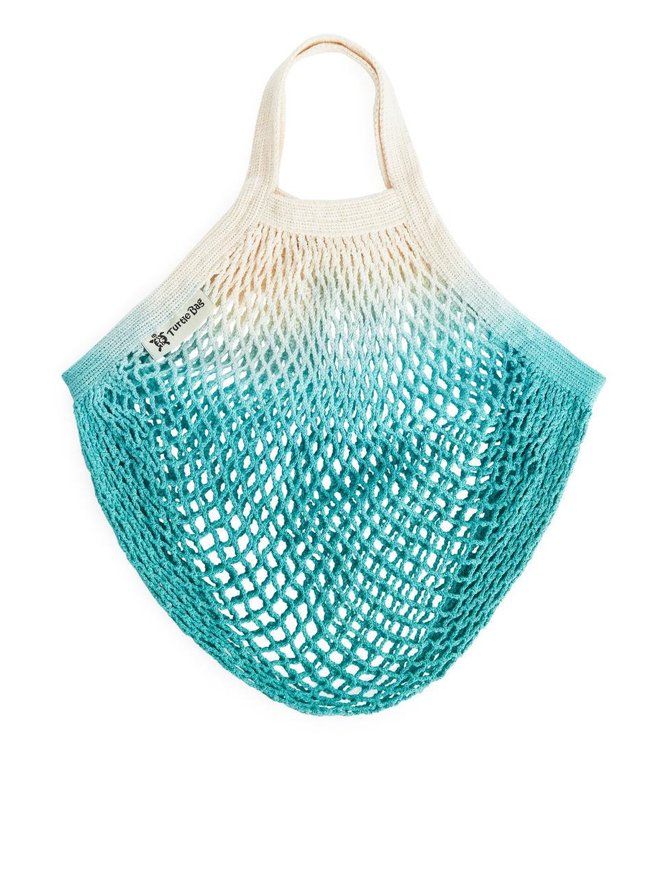 Turtle Bags Dip-Dye String Bag - Turquoise