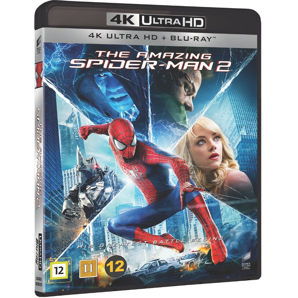 Amazing Spider-Man 2, The (4K Blu-Ray)