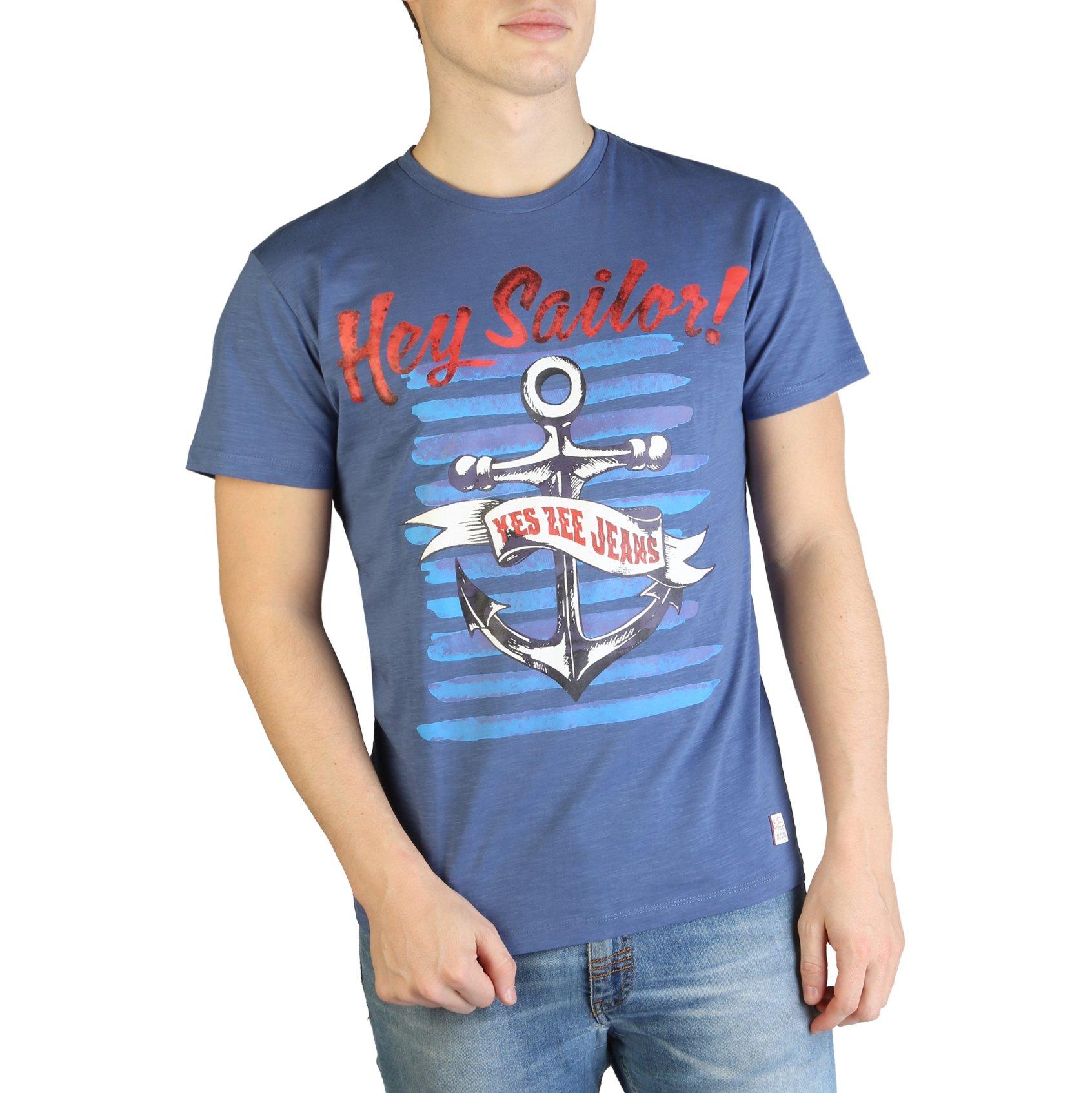 Yes Zee Men's T-Shirt Various Colours T700_TL18 - blue S