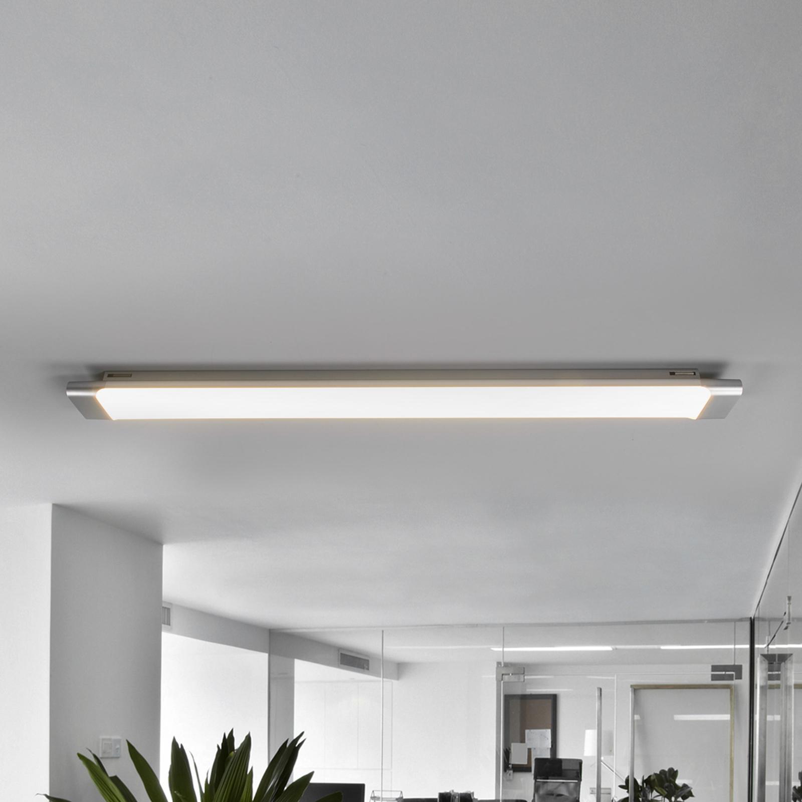 Käytännöllinen LED-kattovalaisin Vinca, 90 cm