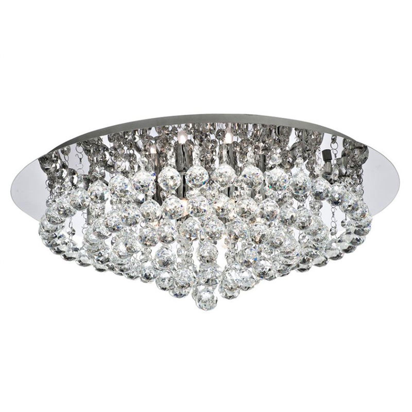 Kattovalaisin Hanna kromi, kristallipallot 55 cm