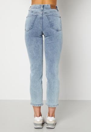 Happy Holly Peggy straight leg jeans Light denim 44