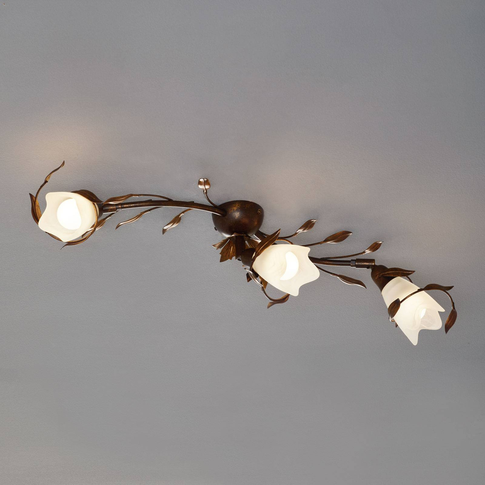 CAMPANA-kattovalaisin, 3 lamppua