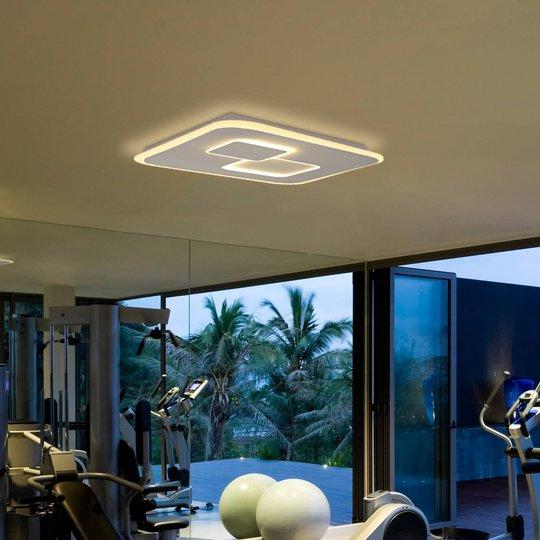 Quad LED-taklampe, tunable white, dimbar