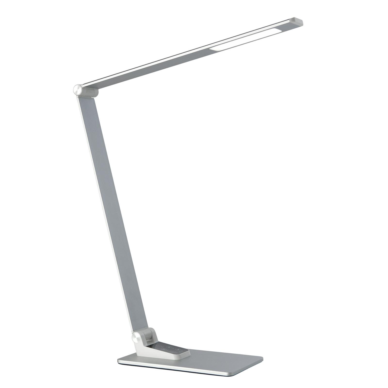 Työpöytälamppu Uli 2, jossa USB-latausasema
