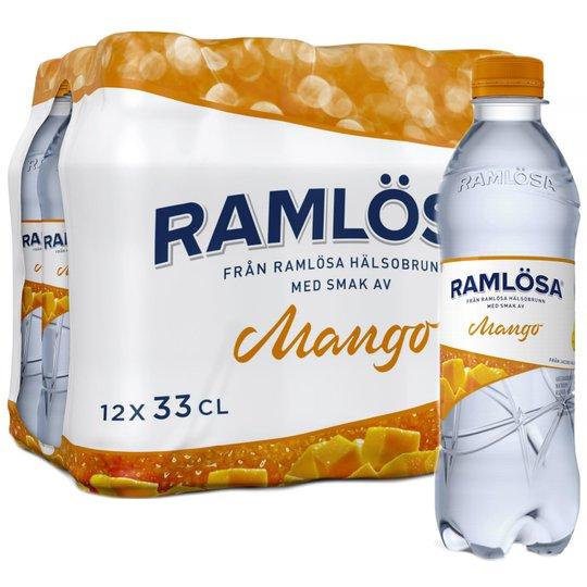 Kolsyrat Vatten Mango 12 x 33cl - 37% rabatt