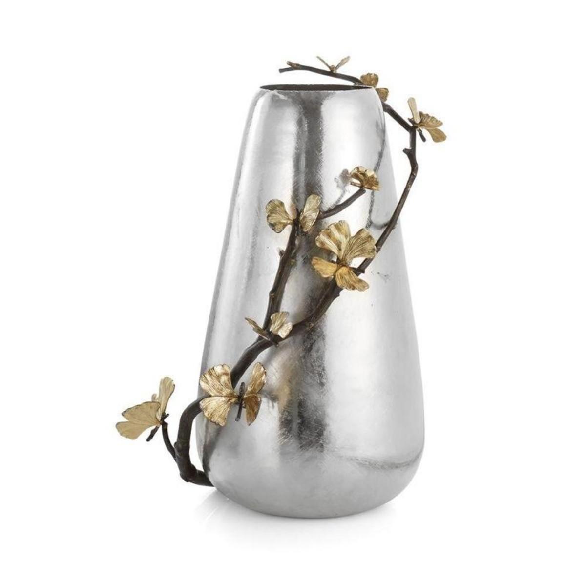 Michael Aram I Butterfly Ginkgo Centerpiece Vase