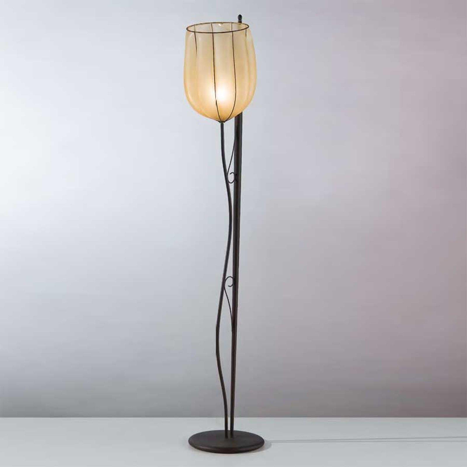 Fortryllende stålampe GIARA håndlaget