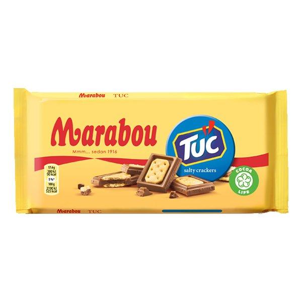 Marabou Salty Crackers TUC Chokladkaka - 87 gram